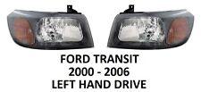 FORD TRANSIT FRONT PAIR HEADLAMPS HEAD LAMP LIGHT LIGHTS HEADLIGHTS 2000-2006 H4
