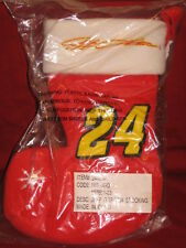 Jeff Gordon #24 Red 10 inch Padded Bean Stocking NIB