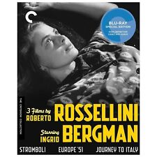 3 Films by Roberto Rossellini Starring Ingrid Bergman (Blu-ray Disc, 2013,...