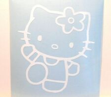 adesivo di Hello Kitty per auto scooter casco vinile murale gatto cat gattina