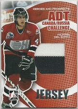 Michael Del Zotto 2008-09 ITG Heroes & Prospects Canada/Russia Challenge Jersey