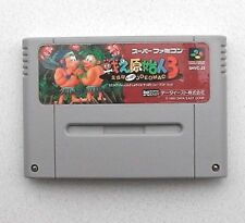 (Free Shipping) TATAKAE GENSHIJIN 3 Joe & Mac Nintendo Super Famicom SNES Japan