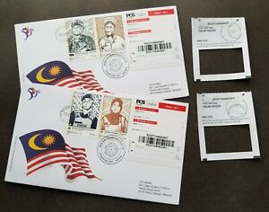 Malaysia Frontliners 2021 Fight Virus FDC (postmark cover) *register *addressed