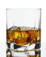 Swivel Double Old Fashioned DOF Whiskey Bourbon Tumbler Glasses, 12 Oz, Set of 6