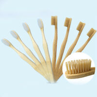 1PC Environmental Bamboo Toothbrush Oral Care Eco Dental Adult Soft Teeth Brush