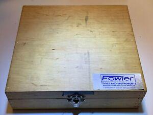 FOWLER 52-255-026 HOLMIKE 51-77MM INTERNAL MICROMETER