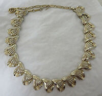 Vintage Gold Tone Coro Necklace