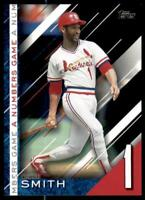 2020 Update Numbers Game Black #NG-21 Ozzie Smith /299 - St. Louis Cardinals