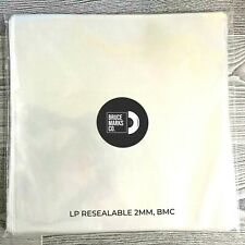 24 RESEALABLE VINYL RECORD SLEEVES FOR LPs (33s) - 2MM