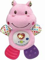 Vtech LITTLE FRIENDLIES HAPPY HIPPO TEETHER PINK Baby Toys Games BN