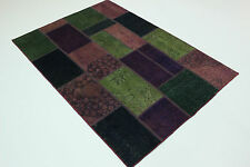 Moderne Patchwork Délavé Used Look Persan Tapis Tapis D'Orient 2,33 X 163