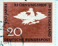 250 Jahre Bundes Rechnungs Hof 20 Pf. Gestempelt **Adler mit Krone**