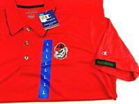 University Of Georgia Bulldogs Short Sleeve Polo Shirt - Mens Wicking Champion