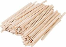 """Gmark 5.5"""" Premium Wood Stirrer 2.3mm Thick Individual Wrapped 200 pc"""