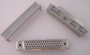 8350-6005 3M Buchsenstecker für Kabelmontage,D-Sub 50-polig,2,54 mm, 0,76 µm