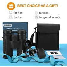 12x42 Binoculars for Adults with Phone Adapter