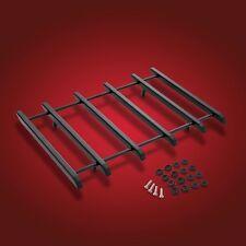 Show Chrome Accessories 91-307BK Black Vantage Rack for Harley Tour Packs