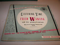 Fred Waring & Pennsylvanians Listening Time LP VG+ Decca DLP8005