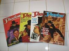 SHADOW PULP DOUBLE REPRINTS: #13, 14, 15, 16.. NOSTALGIA VENTURES