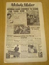 MELODY MAKER 1954 APRIL 24 TONY CROMBIE WOODY HERMAN DICKIE VALENTINE FELIX KING