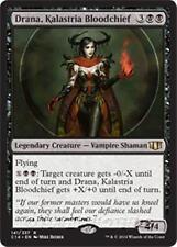 DRANA, KALASTRIA BLOODCHIEF Commander 2014 MTG Black Creature — Vampire Rare