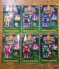 MMPR Power Rangers 1994 Auto Morphin Billy Trini Jason Zack Kimberly Tommy