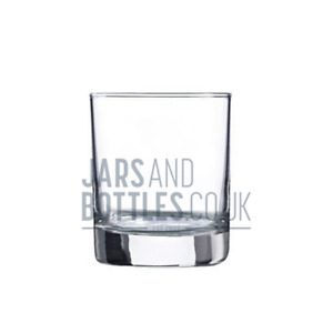 20cl (200ml) Empty Glass Minerva Karen candle holders perfect for craft candles,
