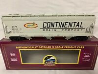 ✅MTH PREMIER CONTINENTAL GRAIN 3 BAY CENTERFLOW HOPPER CAR!