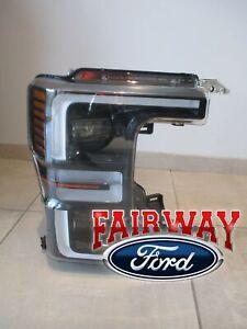 20 thru 22 Super Duty OEM Ford LED Black SPORT Head Lamp Light RH Passenger