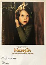 Chronicles Of Narnia Georgie Henley Original Autographed Photo Disney Handsigned