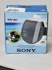 2003 Sony Atrac CDCASE3 Walkman Discman Belt Carry Case & Extra Disc Storage