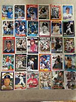 Carlton Fisk Mixed 30 Card Lot - Chicago White Sox HOF