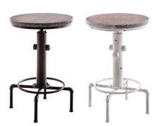Tables d'appoint ronds en métal pour la salle à manger