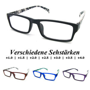 PariDeno Kunststoff Lesebrillen Lesebrille Brille Lesehilfe Sehhilfe Dioptrie