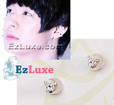 TOHOSHINKI DBSK Mickey & Moon Magnetic Magnet Non-Pierced No Piercing Earrings