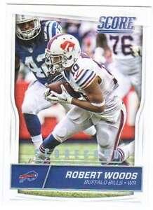 2016 Score Football Scorecard Parallel #38 Robert Woods Bills