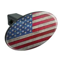 Betsy Ross 1776 American Flag Tow Trailer Hitch Cover Plug Insert