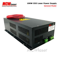 MCWlaser 100W CO2 Laser Power Supply For 100W 130W Laser Tube  Cutting