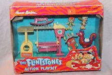 New In Box Vintage 1994 The Flintstones Action Playset Hanna Barbera