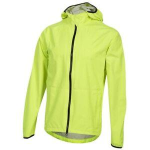 Pearl Izumi Men's Elevate WBX Rain Jacket Yellow Size Medium New with Tags