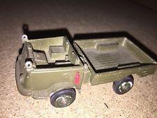 Ancien Camion, jouet originale Renault 4x4 militaire Solido  N°203 à restaurer
