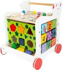 Small Foot  Bear Baby Walker 7393 Childrens Toy 12m+ shape sorter Wooden