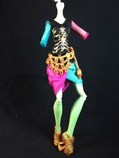 Monster High Doll GIGI GRANT Scaremester Replacement Outfit Shoes Belt Skirt Top