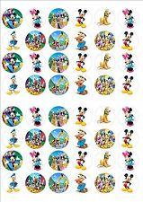 Mickey Mouse Club House Hada Pastel Decoración Toppers X 48 sobre hielo