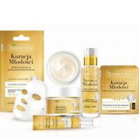Bielenda Youth Treatment Anti Wrinkle Gold Line and Snail Face Cream Serum Mask