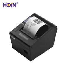 HOIN 80mm USB Thermal Receipt Printer ESC/ POS Printer 250mm/s US PLUG