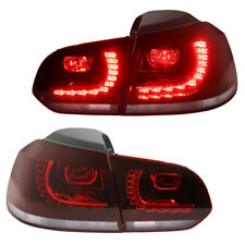 LED Rückleuchten Heckleuchten für VW Golf 6 VI Rot/Weiss GTI R Look