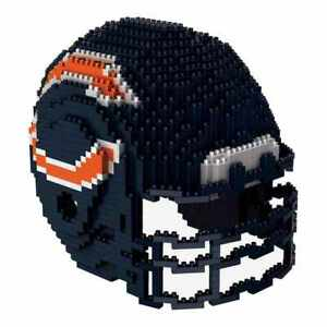 Chicago Bears NFL Forever Collectibles BRXLZ 3-D Helmet Construction Toy