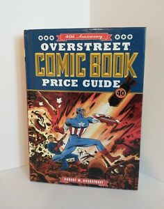 Overstreet Comic Book Reference Guide 40th Anniversary-Hardcover