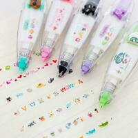 Cute Korean Cartoon Correction Tape Study Stationery Office Suppl Student S L1N2